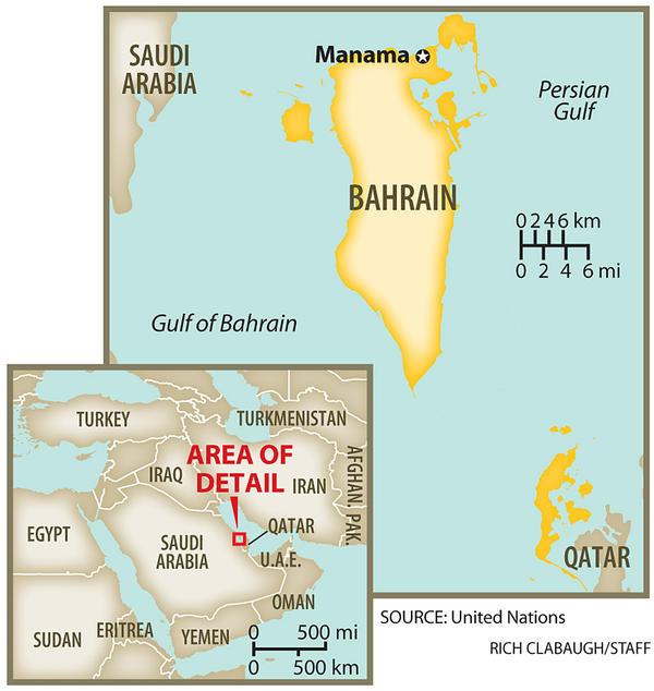 La rivoluzione in Bahrain: resistenza all'imperialismo